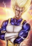 VEGETA SSJ: WAITING TO FIGHT, READY TO FIGHT. by JaysonRevenge