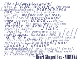 Heart Shaped Box Text brushes by DigitalPrincess
