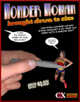 Wonder Woman Shrunken by CassieXian