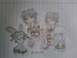 Request: Rigby's Harem by LeMiles13