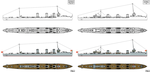 The 2000ton Destroyer Project by Tzoli