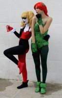 Harley Quinn and Poison Ivy Cosplay - Batman by SailorMappy