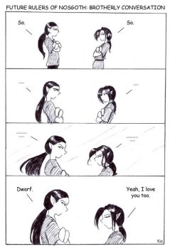 FRON: Brotherly Conversation by legacyofkainclan