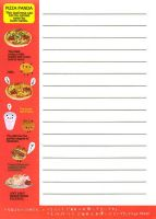 pizza long list of nothing by tristan19019