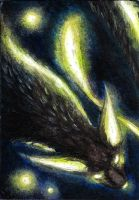 ACEO - I Am The Distraction by LuxDani