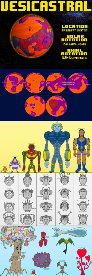 Planet Vesicastral and the Vesicastralans