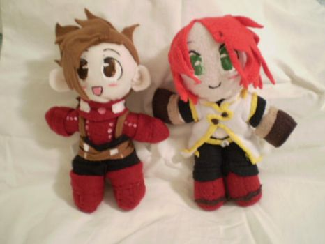 Tales of Heroes Plushies by OrangeSpeck
