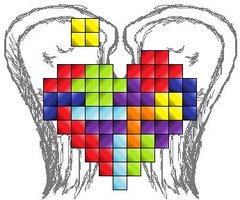 heart of the 8-bit by pixel-minx