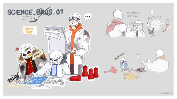 Science (Bros) by Ketchupberry
