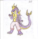 Anthro Super Godzilla by Dinoboy134