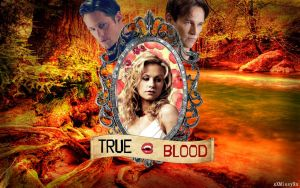 True Blood Autumn Themed Poster by xXMissyXxUnfaithful