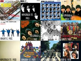 the beatles albums by JediKaputski
