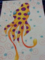 Psychedelic Squid by tinker4939