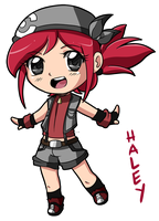.:Chibi Haley:. by ShootingStar03