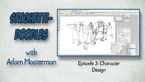 Spaghetti Doodles- Episode 3: Character Design by AdamMasterman