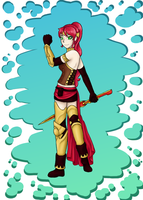 Pyrrha Nikos by sugarkitten2287