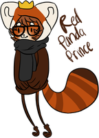 Red Panda Prince Ref by Puqqs