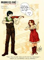 A fiddle to rule them all by Estherrulez