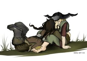 Bofur and Bilbo by Vera-Ist-44