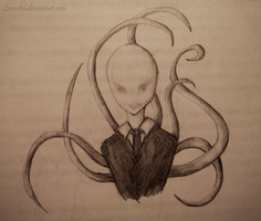 Slenderman by Lunsetta