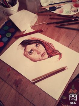 Sharbat Gula WIP by Ophelia-in-reverse