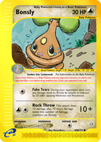 Bonsly Promo by Metagross101