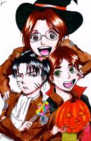 SNK Happy Halloween! by AgentJelly101