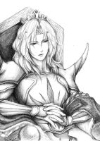 FFIV: King Cecil by Meii-chan