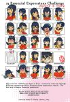 papergirl face expressions by Kamina1978
