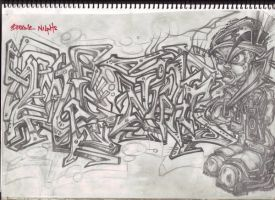 black book piece 97 by Stoodoff