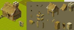 wakfu MMO: house by Sevpoolay