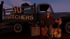 90 Watchers Milestone! by Cowboygineer