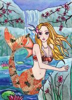 Felicity the Koi Mermaid by Aurella