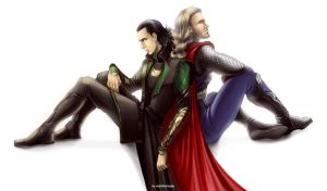 The Avengers - Loki x Thor by maXKennedy