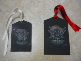 Supernatural Bookmarks by HikaruRyu