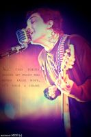 Frank Iero- My Lovenote Has Gone Flat. by mindless-MESS