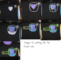 Making of the Velah Tee -Front by IronBrony