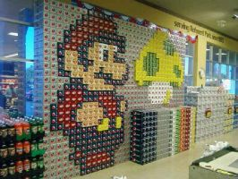 Super Pepsi Mario by Raiian1