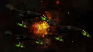 Klingon Battle Cruisers by Cyborgerotica