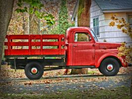the old red by wroquephotography