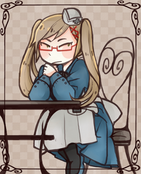 [APH][The Lady of England] by wolfifi