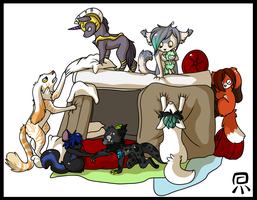 Pillow Forts by ForeverFrosty