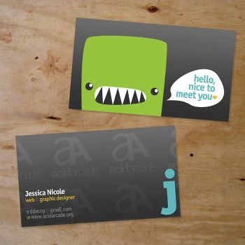 Business Card 02 by ribcages