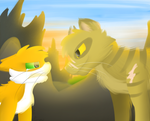Just me and you. by DragonBeast11