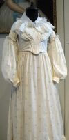 White Victorian Dress by Avestra-Stock