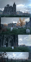 Abandoned Cathedral by huyk