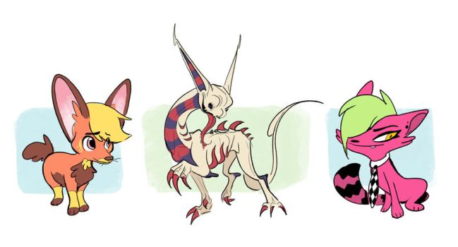Some Cool Dudes by Zakeno