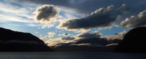 Sognefjord Sunset II by dwarfeater