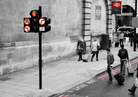 street life in London by srecna