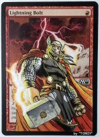 Lightning Bolt, feat. Thor (Marvel Comics Fan Art) by Toriy-Alters